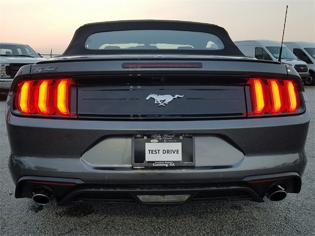 2018 Magnetic Ford Mustang EcoBoost Premium 2 Door EcoBoost 2.3L I4 GTDi DOHC Turbocharged VCT Engine Automatic RWD Convertible