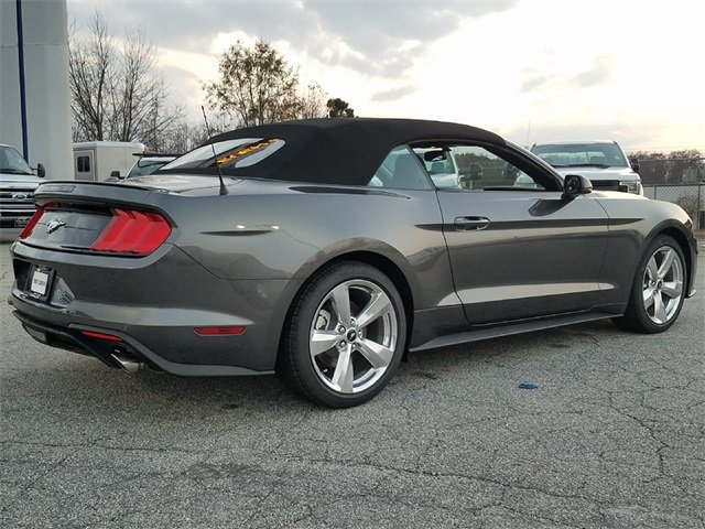 2018 Magnetic Ford Mustang EcoBoost Premium RWD EcoBoost 2.3L I4 GTDi DOHC Turbocharged VCT Engine Convertible Automatic