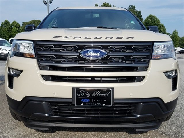 2018 Ford Explorer XLT Automatic FWD SUV 3.5L V6 Ti-VCT Engine 4 Door
