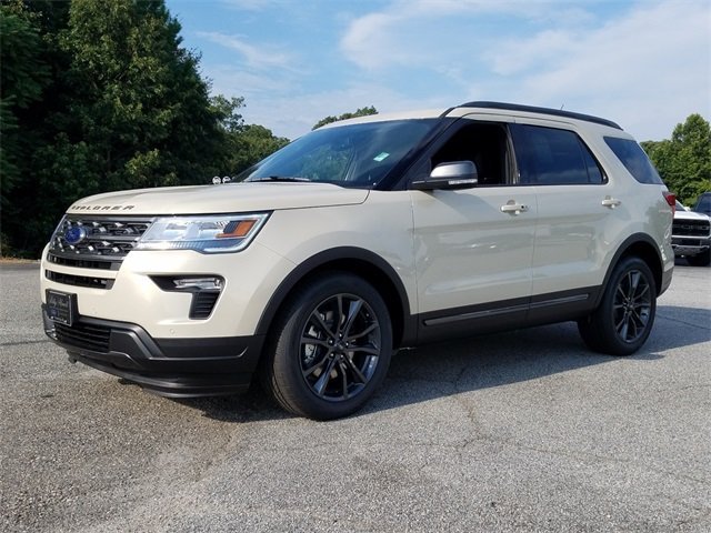 2018 Ford Explorer XLT FWD 4 Door 3.5L V6 Ti-VCT Engine
