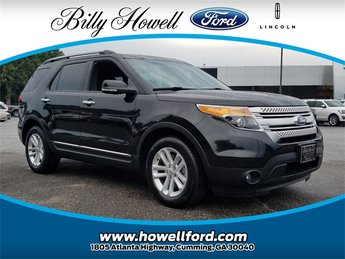 2015 Tuxedo Black Metallic Ford Explorer XLT FWD 3.5L 6-Cylinder SMPI DOHC Engine Automatic 4 Door SUV