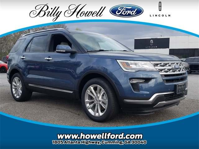 2018 Ford Explorer Limited SUV Automatic FWD 2.3L I-4 EcoBoost Engine 4 Door