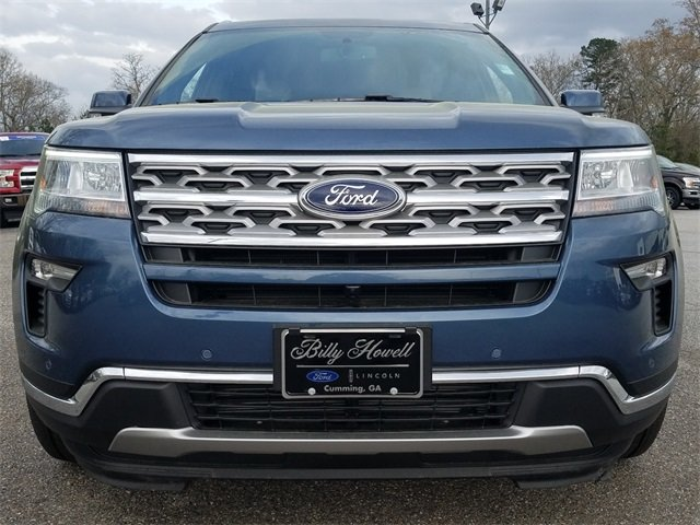 2018 Ford Explorer Limited Automatic FWD 2.3L I-4 EcoBoost Engine