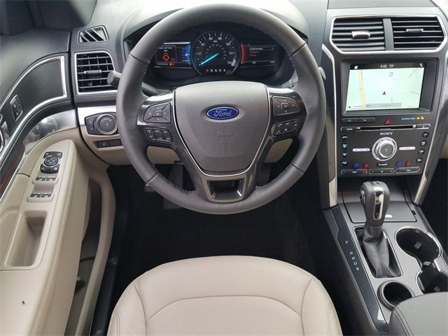 2018 Ford Explorer Limited SUV FWD 4 Door 2.3L I-4 EcoBoost Engine Automatic