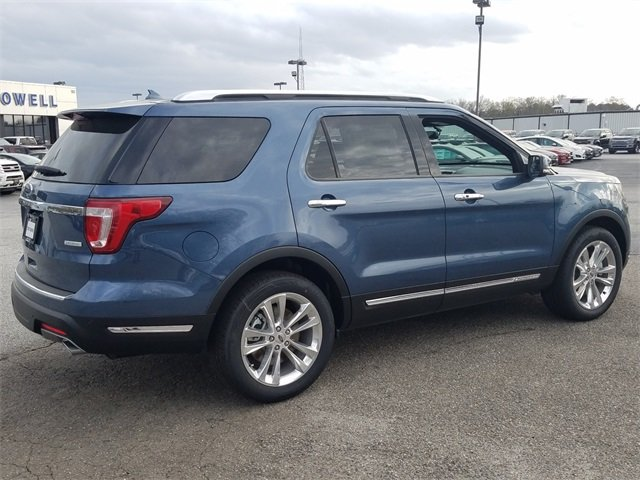 2018 Ford Explorer Limited Automatic SUV 4 Door FWD 2.3L I-4 EcoBoost Engine
