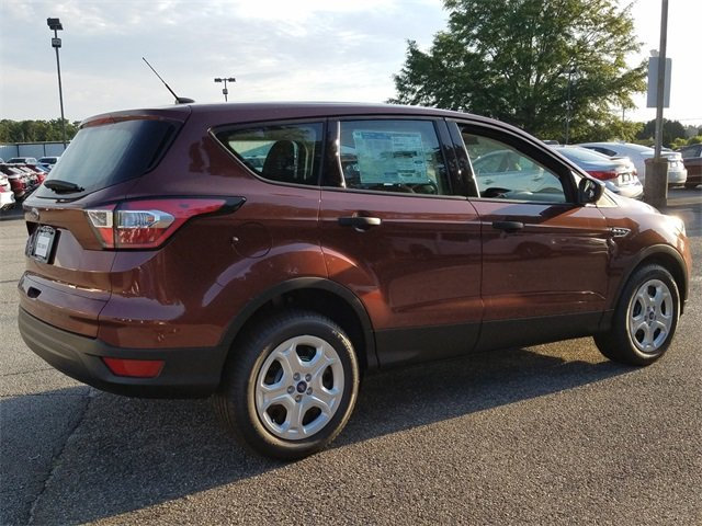2018 Cinnamon Glaze Metallic Ford Escape S 4 Door SUV Automatic 2.5L iVCT Engine