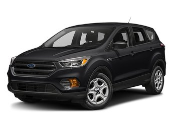 2018 Shadow Black Ford Escape S 4 Door FWD 2.5L iVCT Engine with Flex-Fuel Capability Automatic SUV
