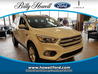 2018 Ford Escape SEL SUV EcoBoost 1.5L I4 GTDi DOHC Turbocharged VCT Engine 4 Door