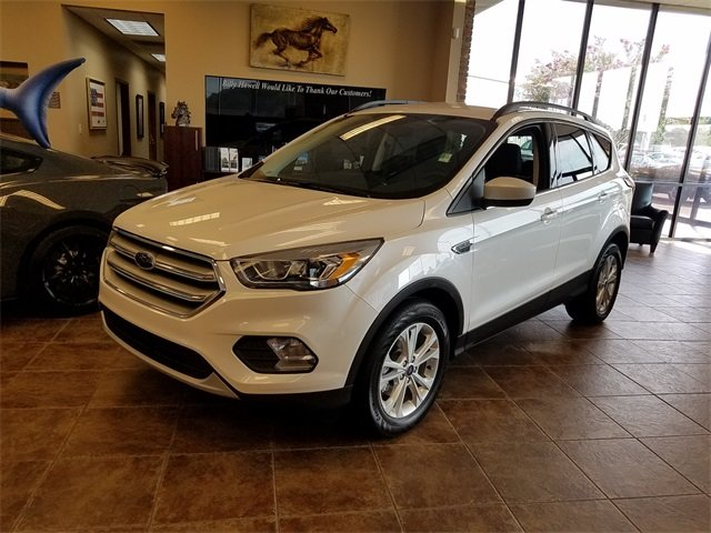 2018 Ford Escape SEL Automatic FWD 1.5L EcoBoost Engine with Auto Start-Stop Technology SUV