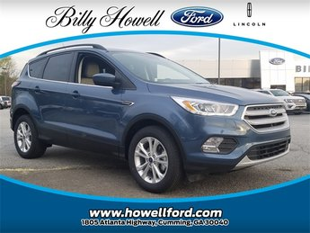 2018 Blue Metallic Ford Escape SEL EcoBoost 1.5L I4 GTDi DOHC Turbocharged VCT Engine Automatic FWD SUV 4 Door