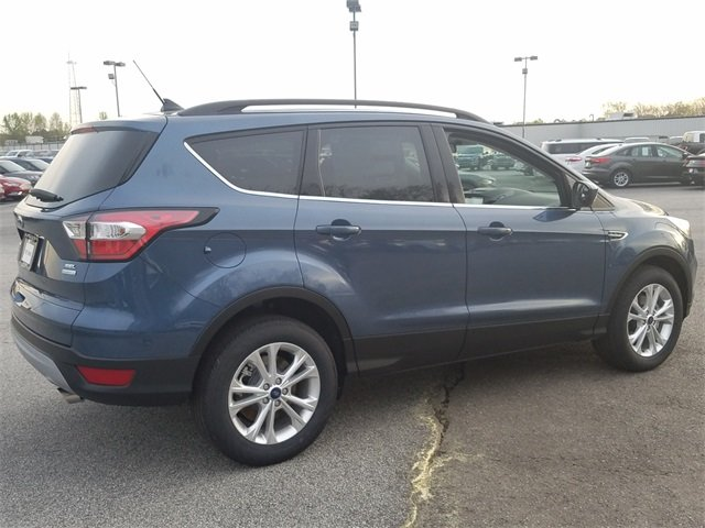 2018 Blue Metallic Ford Escape SEL FWD SUV Automatic