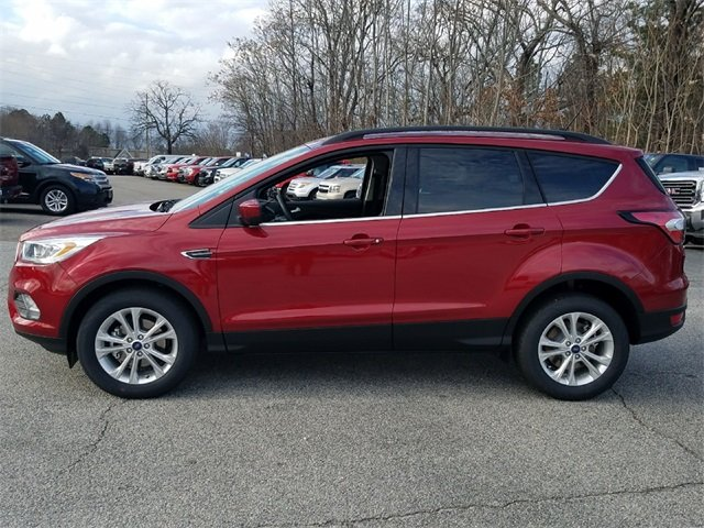 2018 Ruby Red Metallic Tinted Clearcoat Ford Escape SEL FWD Automatic 4 Door