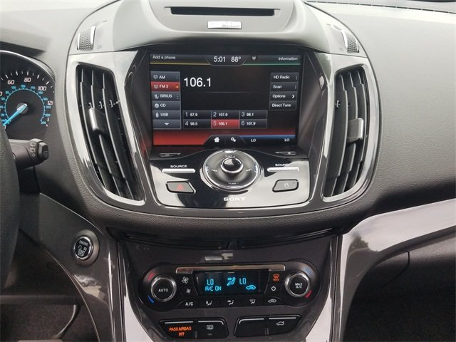 2015 Ford Escape Titanium EcoBoost 1.6L I4 GTDi DOHC Turbocharged VCT Engine SUV Automatic 4 Door FWD