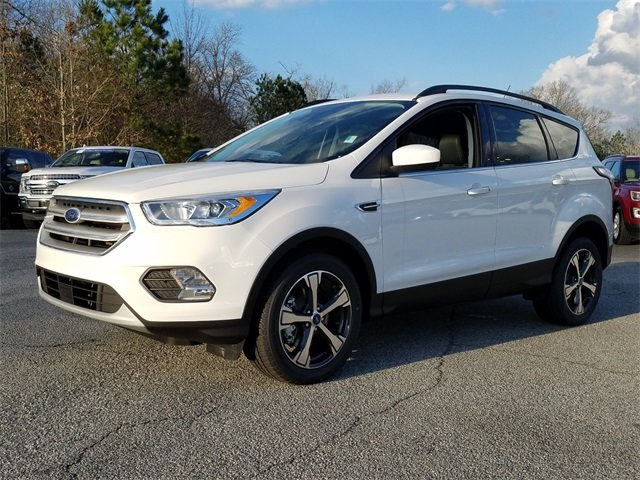 2018 Ford Escape SEL EcoBoost 1.5L I4 GTDi DOHC Turbocharged VCT Engine Automatic SUV 4 Door 4X4