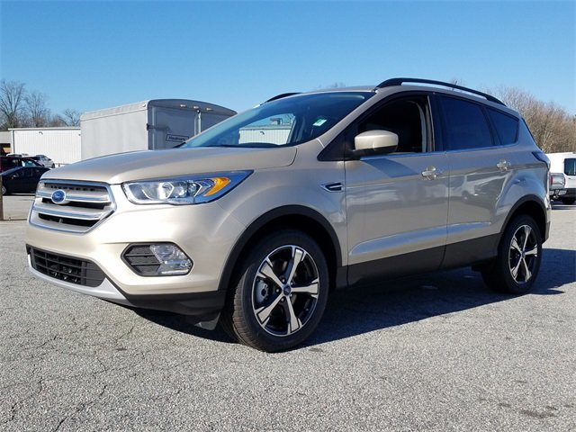 2018 White Gold Metallic Ford Escape SEL Automatic 4 Door 4X4