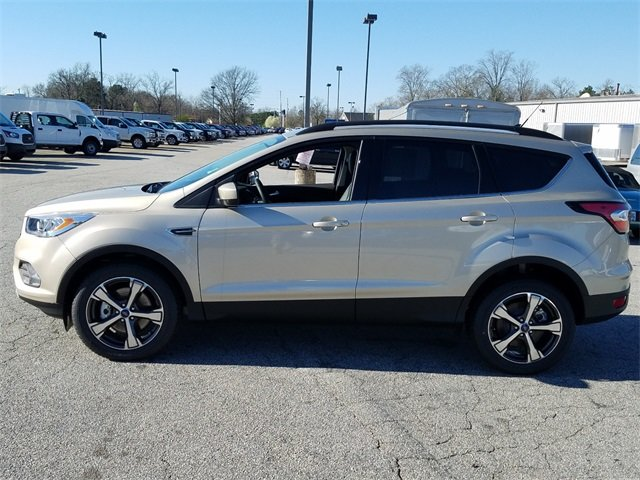 2018 White Gold Metallic Ford Escape SEL 4 Door Automatic SUV