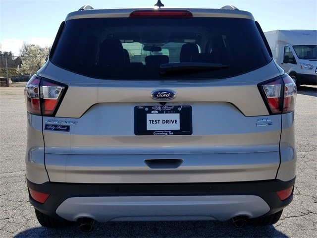 2018 White Gold Metallic Ford Escape SEL Automatic 4 Door 4X4 SUV