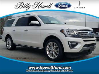 2018 Ford Expedition Max Limited EcoBoost 3.5L V6 GTDi DOHC 24V Twin Turbocharged Engine 4 Door Automatic SUV
