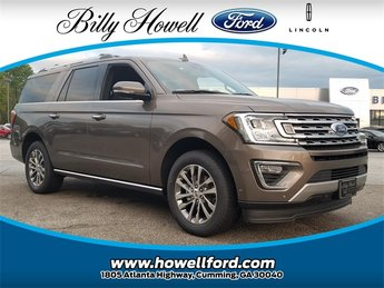 2018 Stone Gray Metallic Ford Expedition Max Limited EcoBoost 3.5L V6 GTDi DOHC 24V Twin Turbocharged Engine Automatic 4 Door