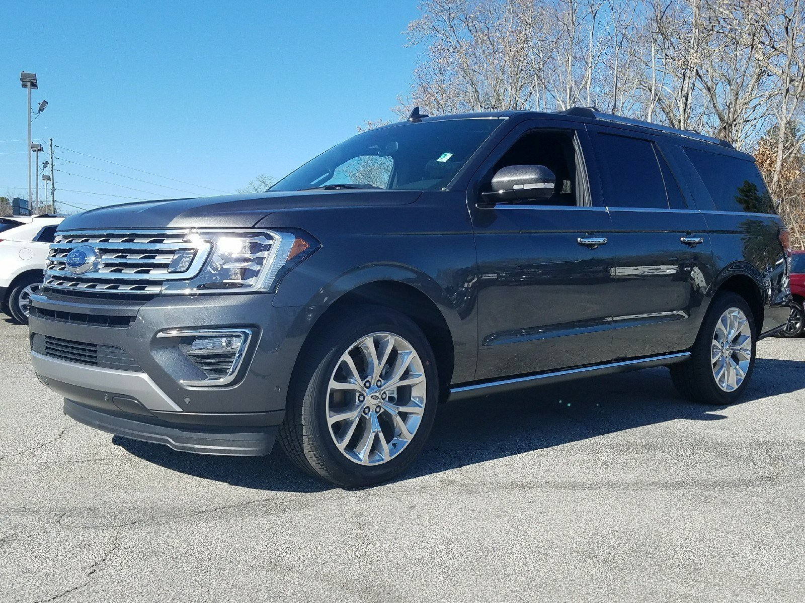 2018 Ford Expedition Limited Automatic 3.5L EcoBoost V6 Engine with Auto Start-Stop Technology SUV 4 Door RWD