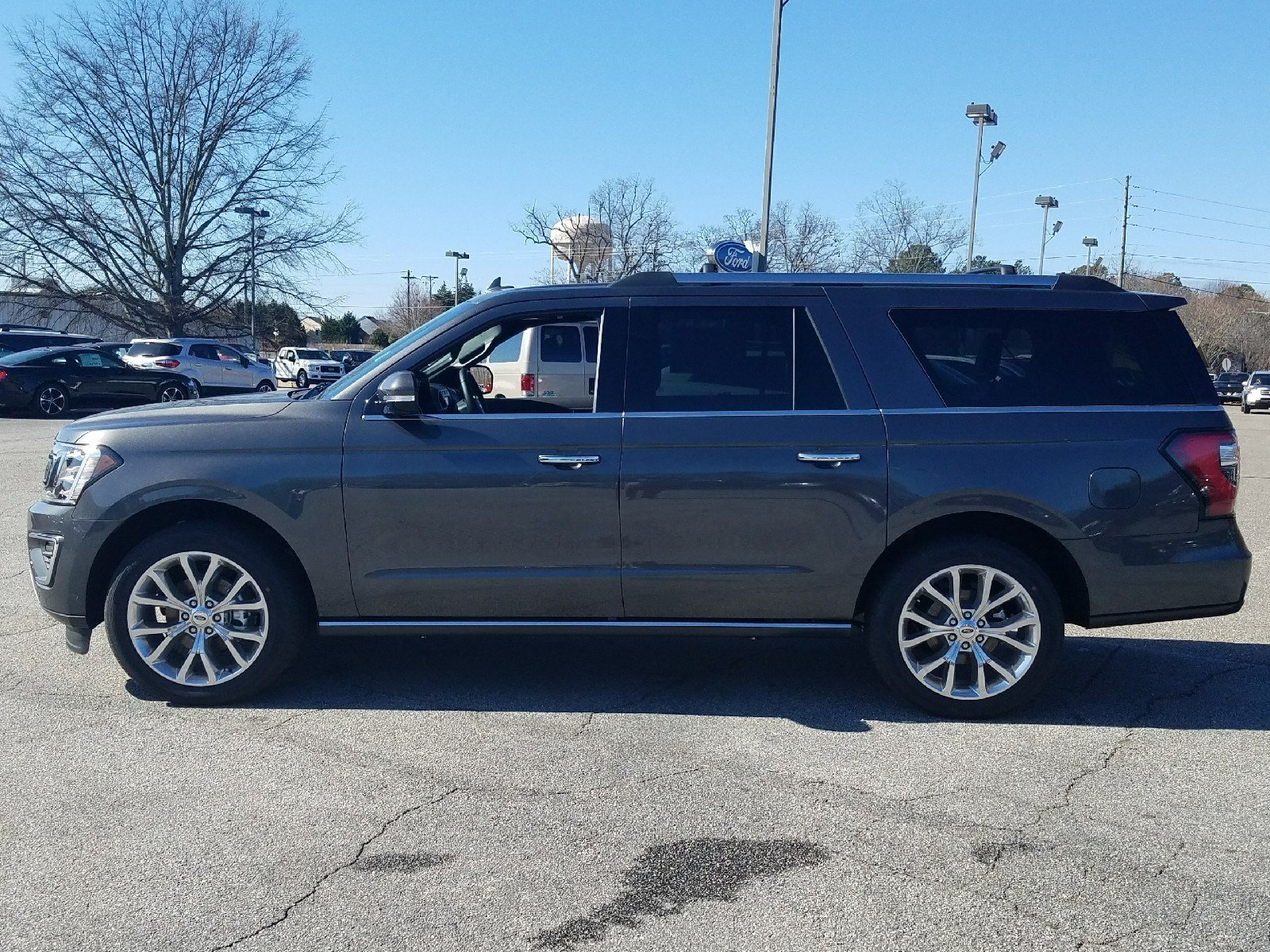 2018 Magnetic Ford Expedition Limited 4 Door Automatic RWD