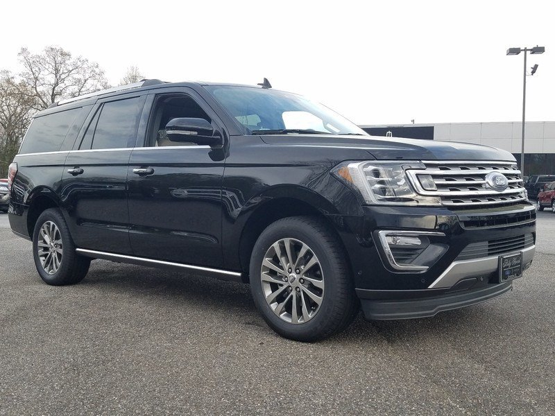 2018 Shadow Black Ford Expedition Limited RWD 4 Door 3.5L EcoBoost V6 Engine with Auto Start-Stop Technology SUV Automatic