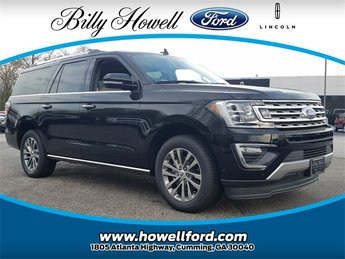 2018 Ford Expedition Max Limited EcoBoost 3.5L V6 GTDi DOHC 24V Twin Turbocharged Engine RWD Automatic SUV 4 Door