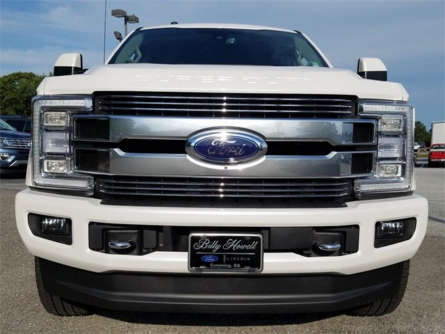 2018 Ford Super Duty F-250 SRW Limited 4 Door 4X4 Truck Power Stroke 6.7L V8 DI 32V OHV Turbodiesel Engine Automatic