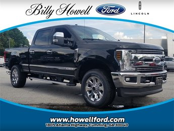 2018 Ford Super Duty F-250 SRW Power Stroke 6.7L V8 DI 32V OHV Turbodiesel Engine 4 Door Automatic