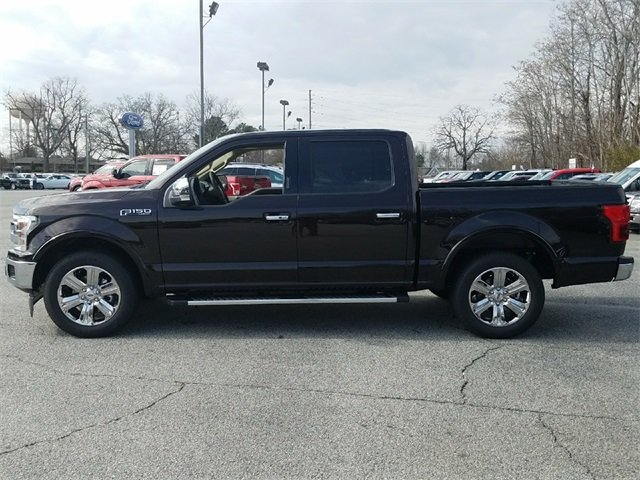 2018 Magma Red Ford F-150 Lariat 5.0L V8 Ti-VCT Engine RWD Truck 4 Door