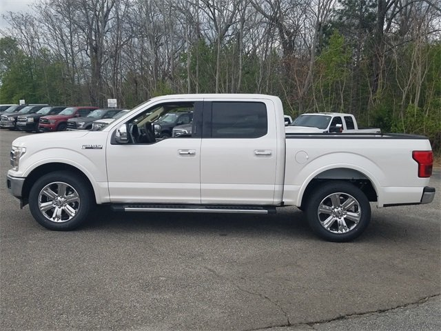 2018 Ford F-150 Lariat Truck RWD 3.5L EcoBoost V6 engine with Auto Start/Stop Technology
