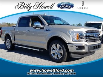 2018 Ford F-150 Lariat RWD 4 Door EcoBoost 3.5L V6 GTDi DOHC 24V Twin Turbocharged Engine Automatic