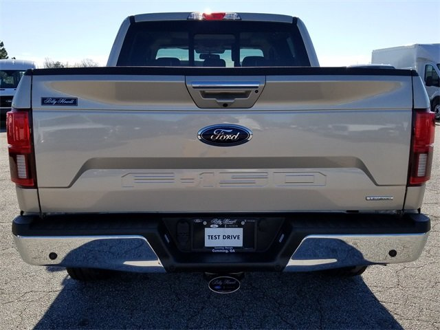 2018 White Gold Ford F-150 Lariat Truck Automatic 4 Door