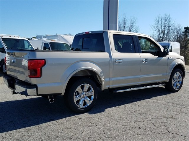 2018 White Gold Ford F-150 Lariat Automatic RWD Truck