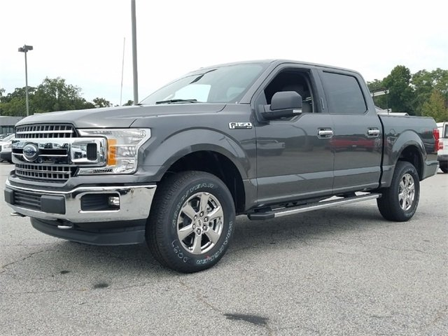2018 Magnetic Metallic Ford F-150 XLT Automatic 5.0L V8 Engine 4 Door 4X4