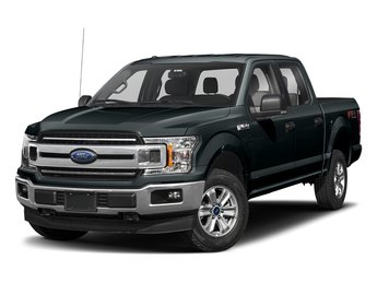2018 Guard Metallic Ford F-150 XLT Automatic Truck 4X4 4 Door 5.0L V8 Engine