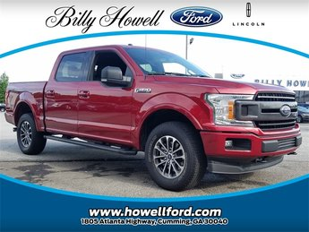 2018 Ruby Red Metallic Tinted Clearcoat Ford F-150 XLT Truck 5.0L V8 Ti-VCT Engine Automatic 4X4