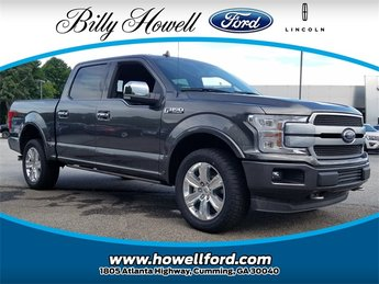 2018 Ford F-150 Platinum Truck Automatic 4 Door 4X4 5.0L V8 Ti-VCT Engine