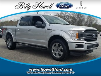 2018 Ingot Silver Metallic Ford F-150 XLT 4 Door Automatic Truck 4X4