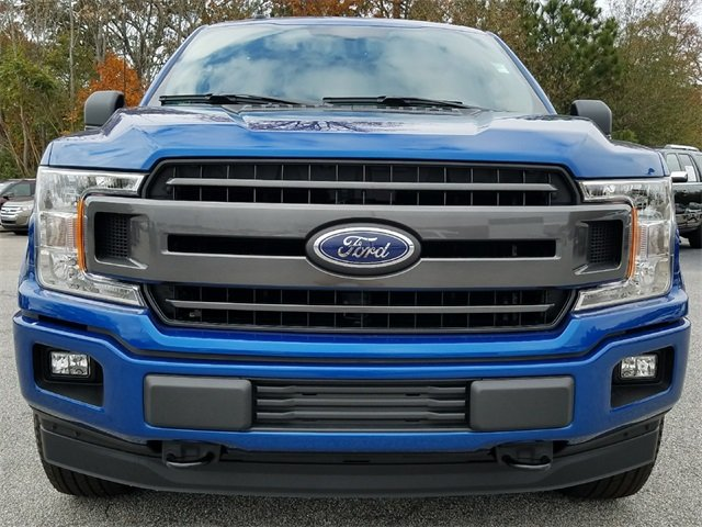 2018 Lightning Blue Ford F-150 XLT Automatic Truck 4 Door