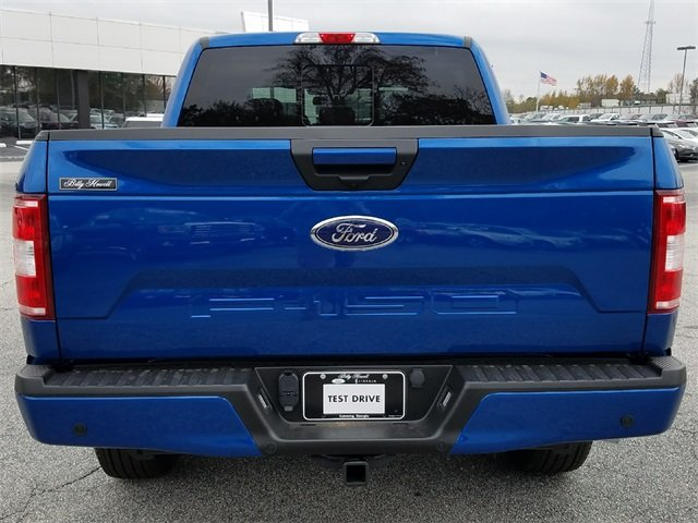 2018 Lightning Blue Ford F-150 XLT 4X4 4 Door Automatic