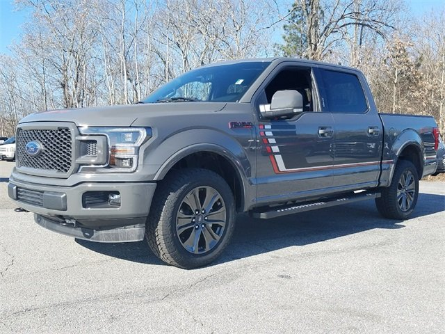 2018 Lead Foot Ford F-150 Lariat 5.0L Ti-VCT V8 engine with Auto Start/Stop Technology Truck 4X4 Automatic 4 Door