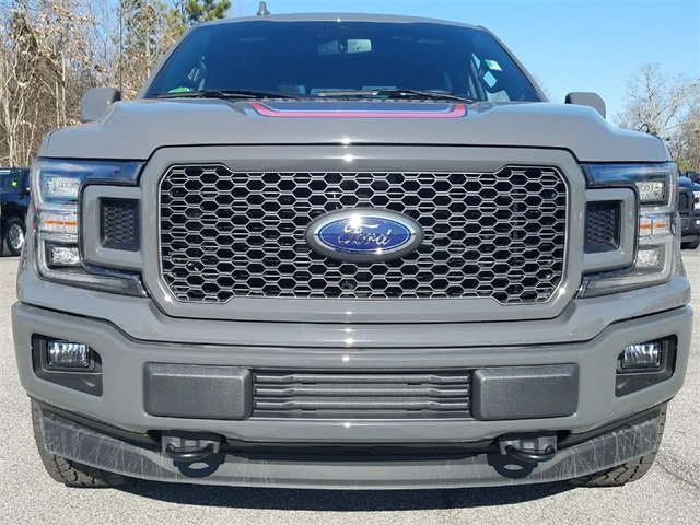 2018 Ford F-150 Lariat 4X4 5.0L Ti-VCT V8 engine with Auto Start/Stop Technology 4 Door