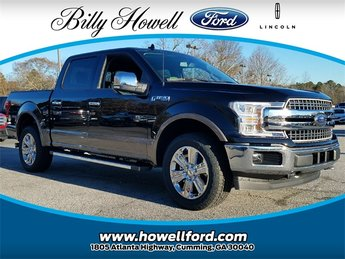 2018 Ford F-150 Lariat 4X4 3.5L EcoBoost V6 engine with Auto Start/Stop Technology Automatic