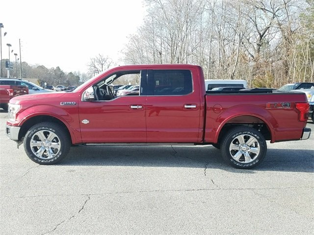 2018 Ford F-150 King Ranch EcoBoost 3.5L V6 GTDi DOHC 24V Twin Turbocharged Engine 4 Door Truck 4X4 Automatic
