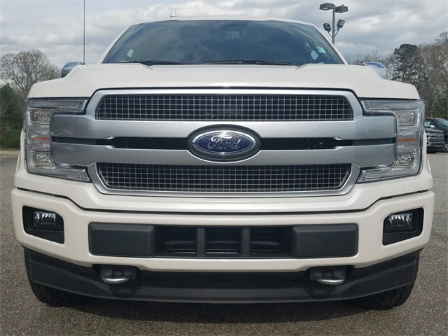 2018 Ford F-150 Platinum 3.5L EcoBoost V6 engine with Auto Start/Stop Technology Automatic Truck 4X4