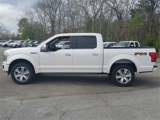 2018 Ford F-150 Platinum Automatic Truck 3.5L EcoBoost V6 engine with Auto Start/Stop Technology