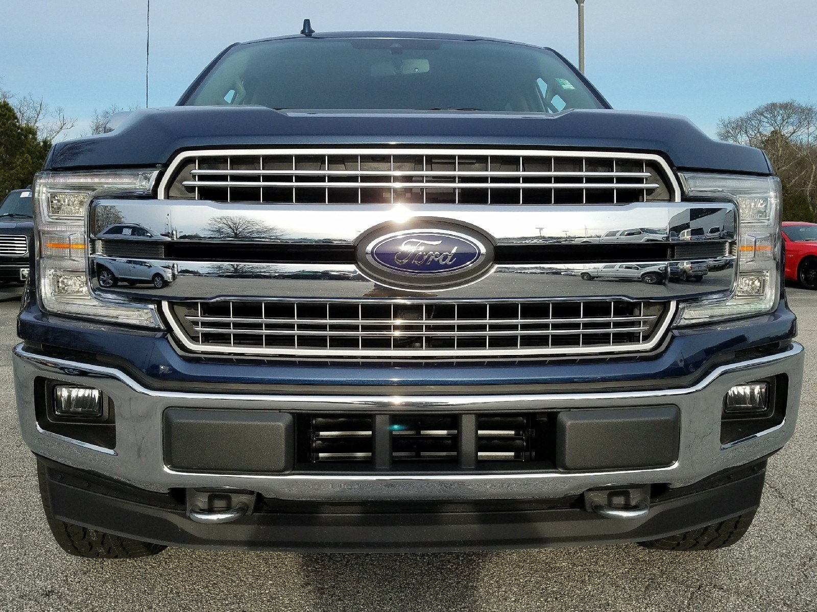 2018 Ford F-150 Lariat Truck 3.5L EcoBoost V6 engine with Auto Start/Stop Technology 4 Door 4X4 Automatic