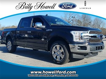 2018 Ford F-150 King Ranch 4 Door 3.5L EcoBoost V6 engine with Auto Start/Stop Technology Truck Automatic 4X4