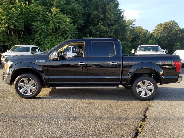 2018 Shadow Black Ford F-150 Lariat 4 Door 4X4 Automatic